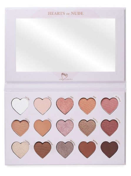 WITH LOVE COSMETICS HEARTS...